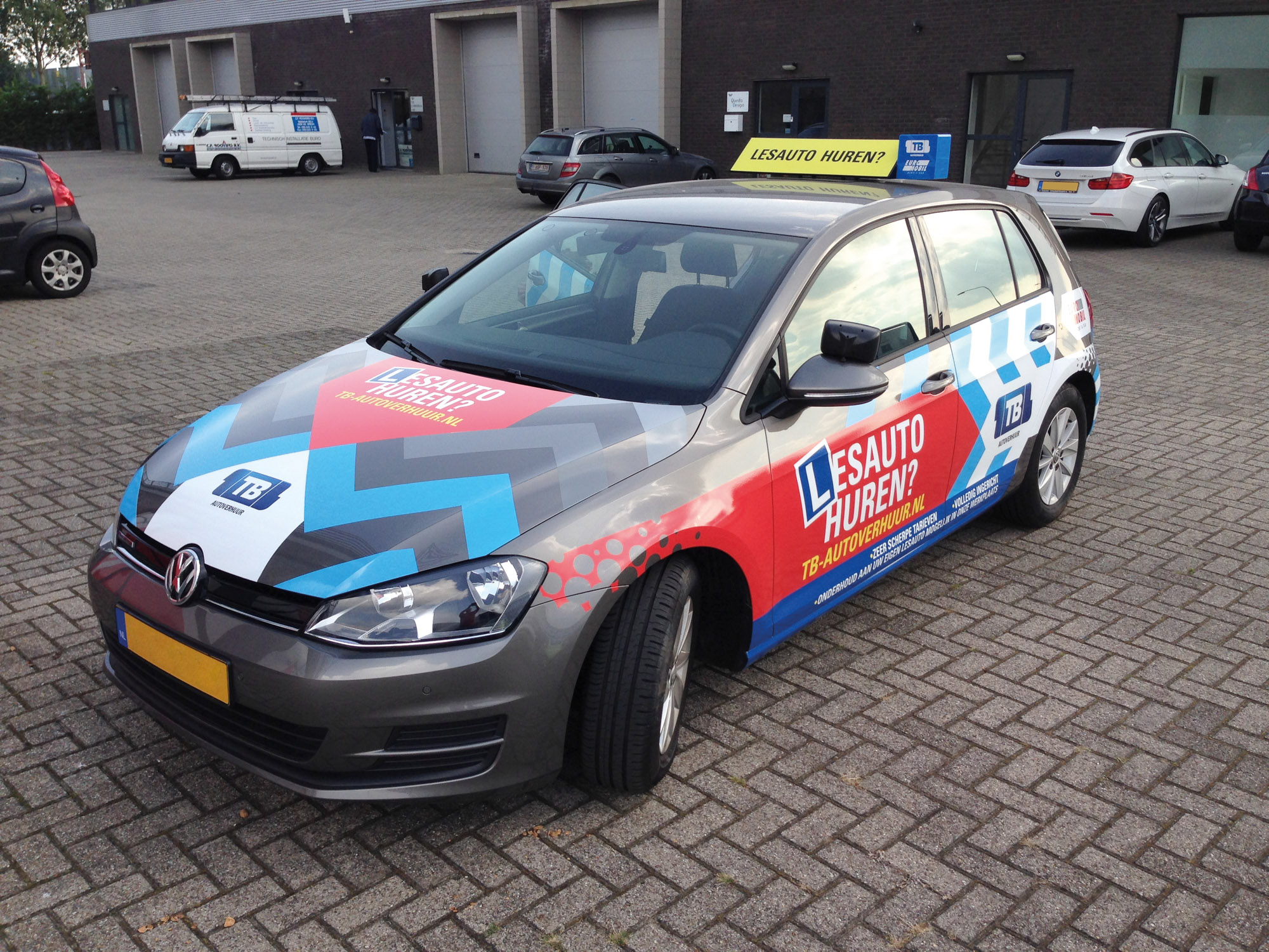 Auto bestickeren Breda